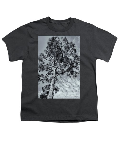 Youth T-Shirt featuring the photograph Towering by Linda Lees