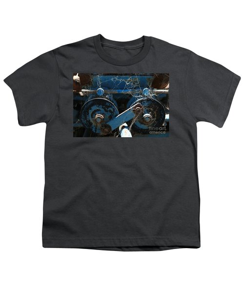 Youth T-Shirt featuring the photograph Tractor Engine IIi by Stephen Mitchell