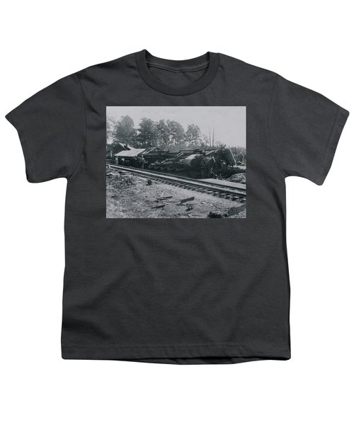 Train Derailment Youth T-Shirt