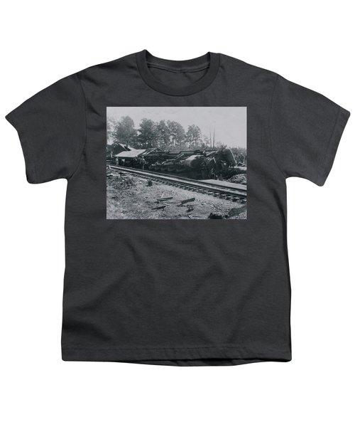 Train Derailment Youth T-Shirt