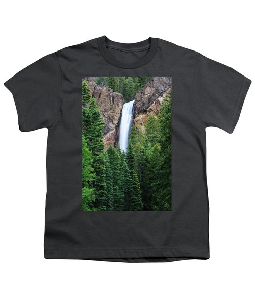 Youth T-Shirt featuring the photograph Treasure Falls by David Chandler