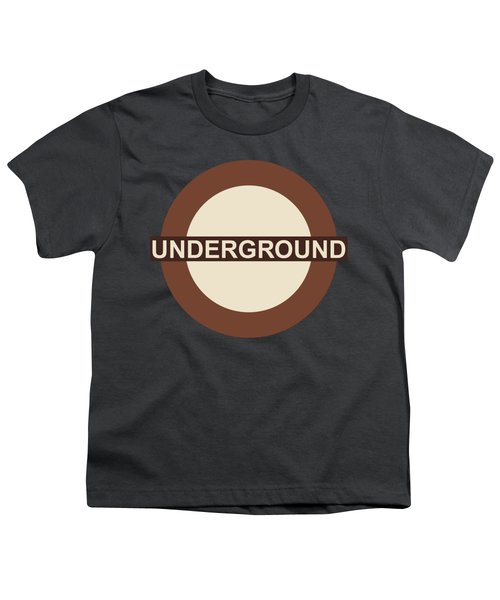 Underground75 Youth T-Shirt by Saad Hasnain