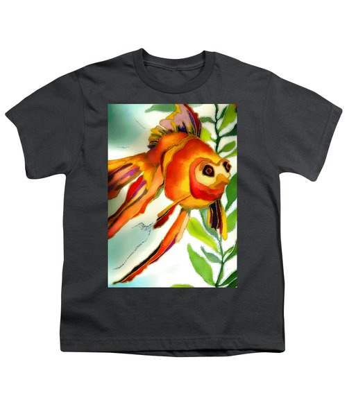 Underwater Fish Youth T-Shirt by Lyn Chambers
