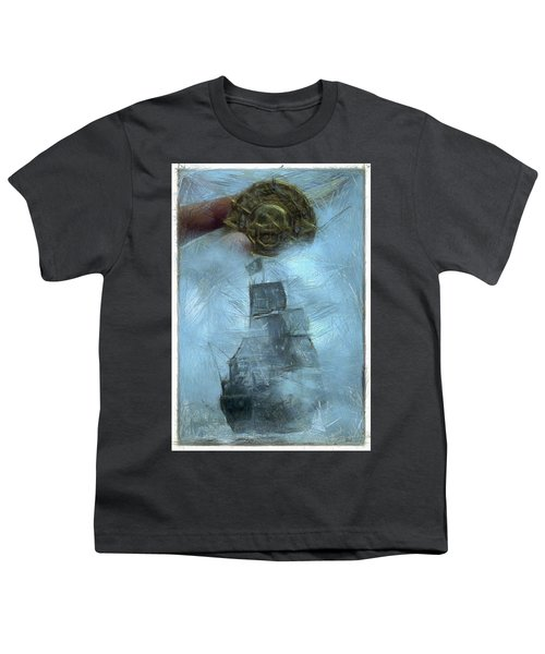 Unnatural Fog Youth T-Shirt by Benjamin Dean