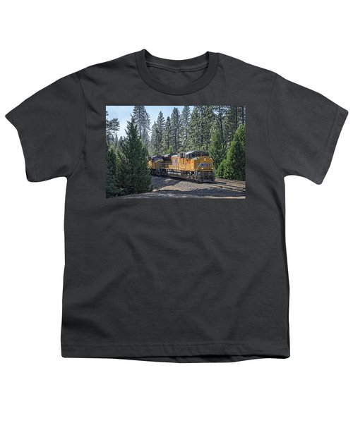 Youth T-Shirt featuring the photograph Up8968 by Jim Thompson