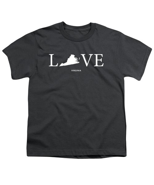 Va Love Youth T-Shirt by Nancy Ingersoll