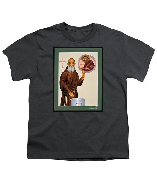 Venerable Fr. Solanus Casey The Healer 038 Youth T-Shirt