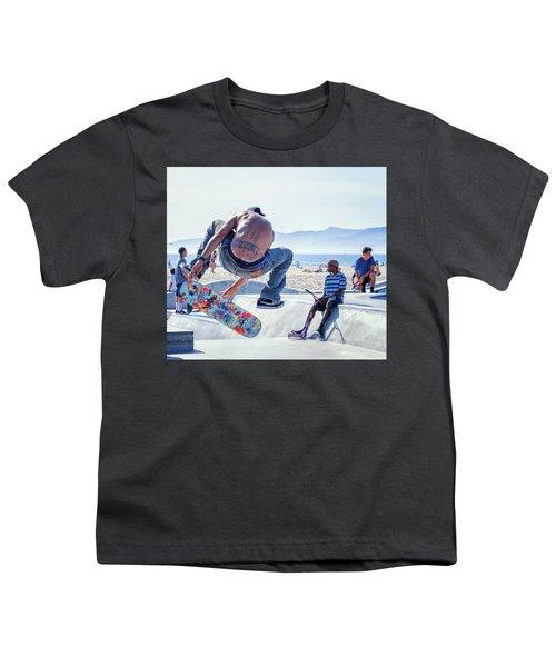 Venice Beach Skater Youth T-Shirt