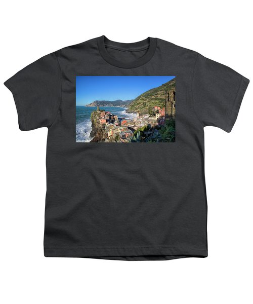 Vernazza In Cinque Terre Youth T-Shirt