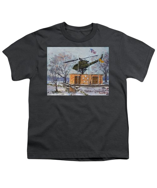Veterans Memorial Park In Tonawanda Youth T-Shirt