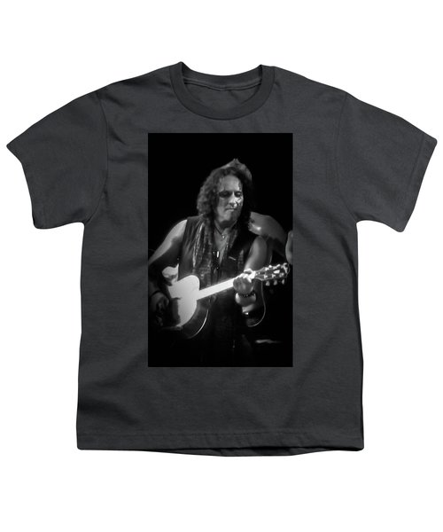 Vivian Campbell - Campbell Tough3 Youth T-Shirt by Luisa Gatti