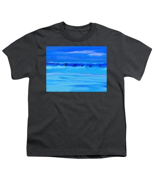 Vol De Pelicans Youth T-Shirt