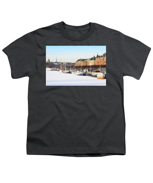 Youth T-Shirt featuring the photograph Waiting Out Winter by David Chandler
