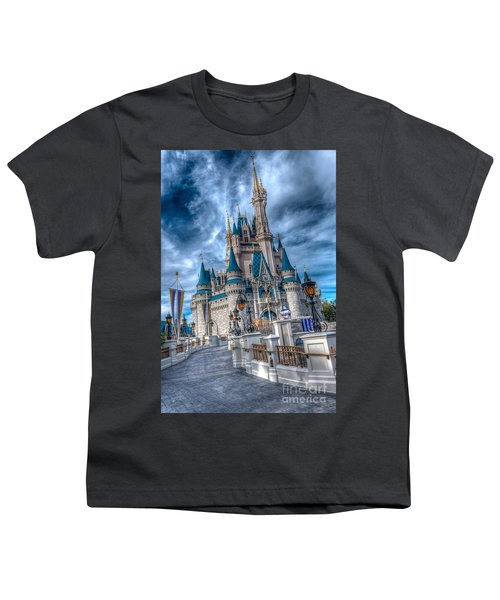 Walkway To Cinderellas Castle Youth T-Shirt