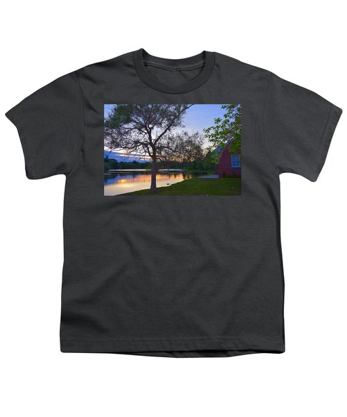 Warming House Youth T-Shirt by Kate Arsenault