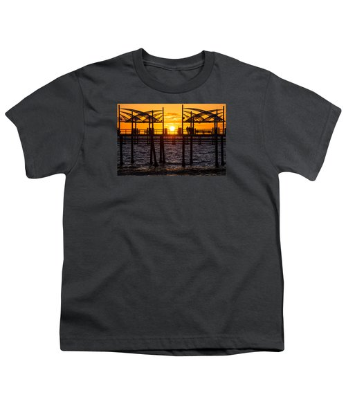Watching The Sunset Youth T-Shirt