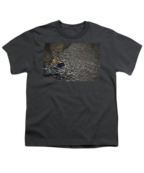 Youth T-Shirt featuring the photograph Black Hole by Yulia Kazansky