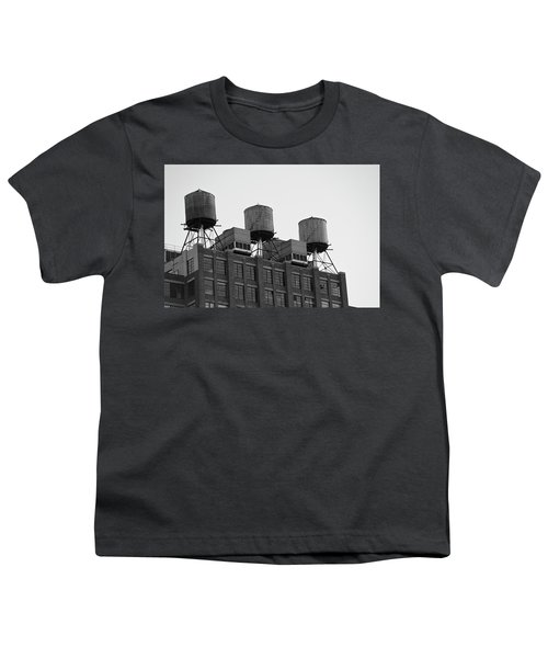 Water Towers Youth T-Shirt