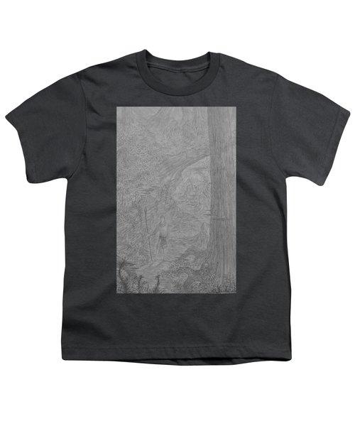 Wayward Wizard Youth T-Shirt by Corbin Cox