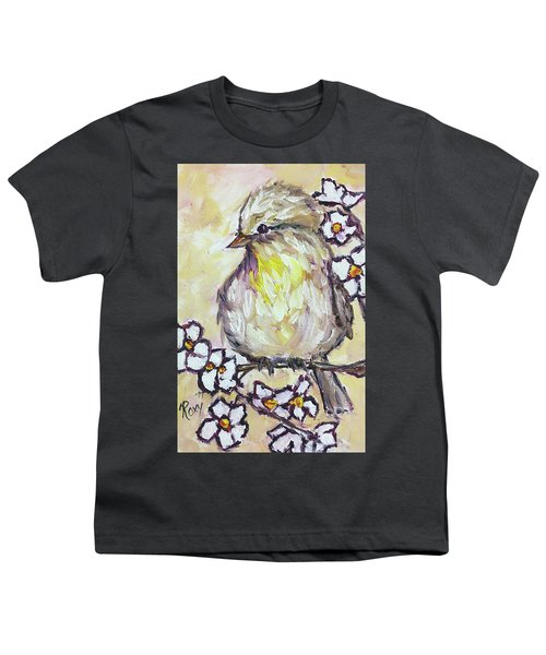 Western Kingbird Chick  Youth T-Shirt