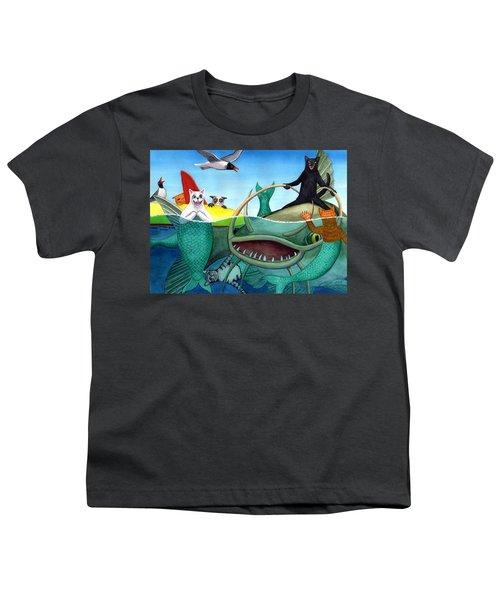 Wicked Kitty's Catfish Youth T-Shirt
