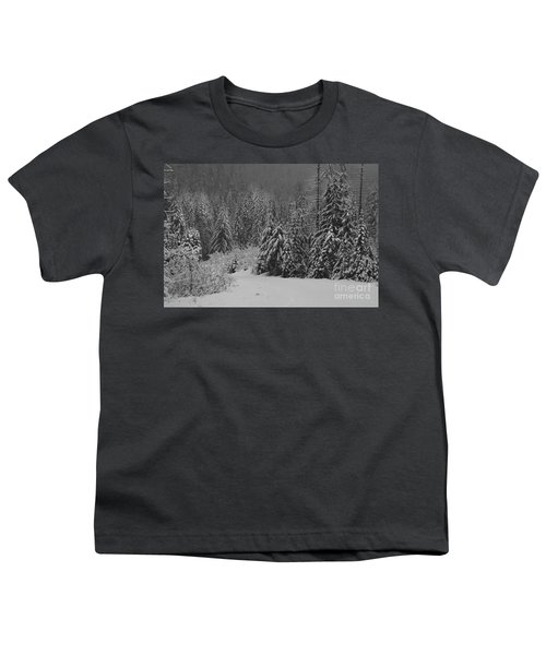 Youth T-Shirt featuring the photograph Winter Fairy Tale by Yulia Kazansky