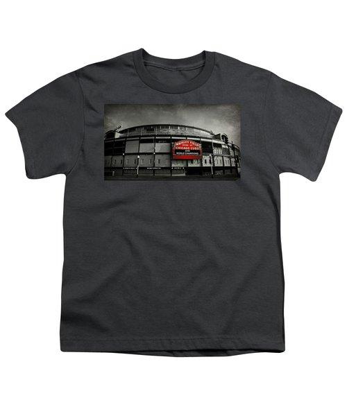 Wrigley Field Youth T-Shirt by Stephen Stookey
