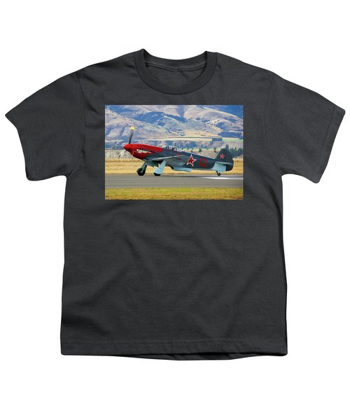 Yakovlev Yak 3-m Youth T-Shirt by Bernard Spragg