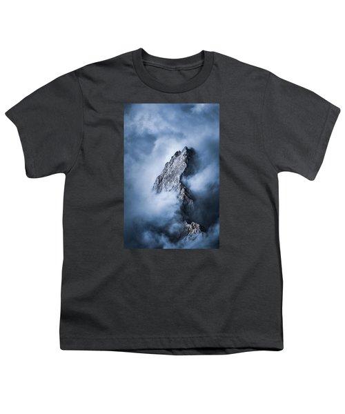 Zugspitze Youth T-Shirt by Yu Kodama Photography