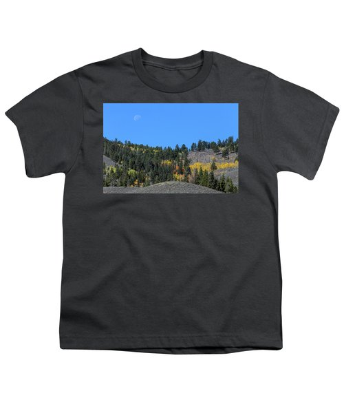 Youth T-Shirt featuring the photograph Autumn Moon by James BO Insogna