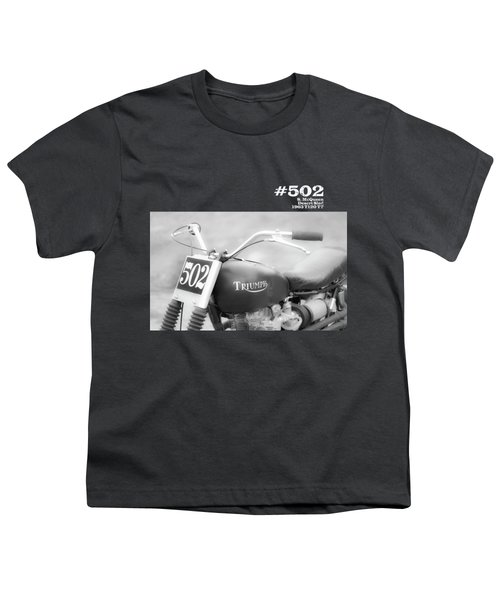 Mcqueens Desert Sled Number 502 Youth T-Shirt