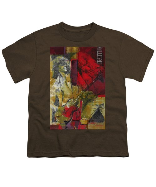 Led Zeppelin  Youth T-Shirt by Corporate Art Task Force