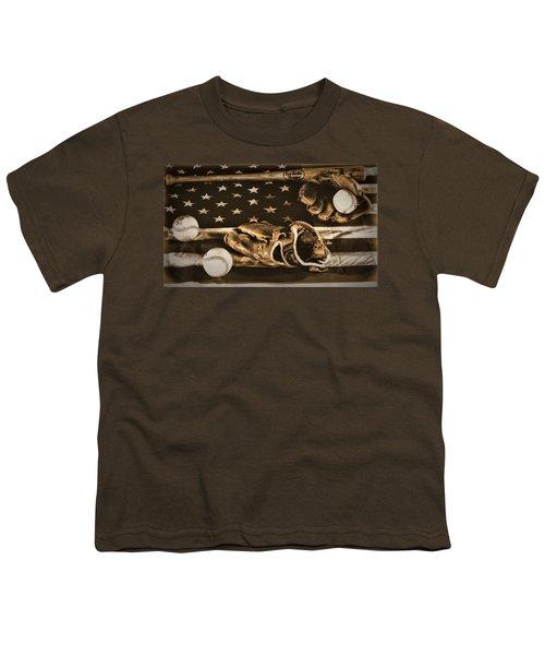 Vintage Baseball Youth T-Shirt