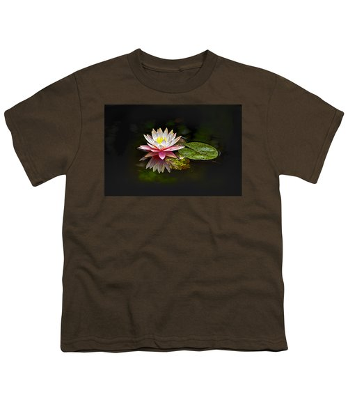 Water Lily Youth T-Shirt by Bill Barber