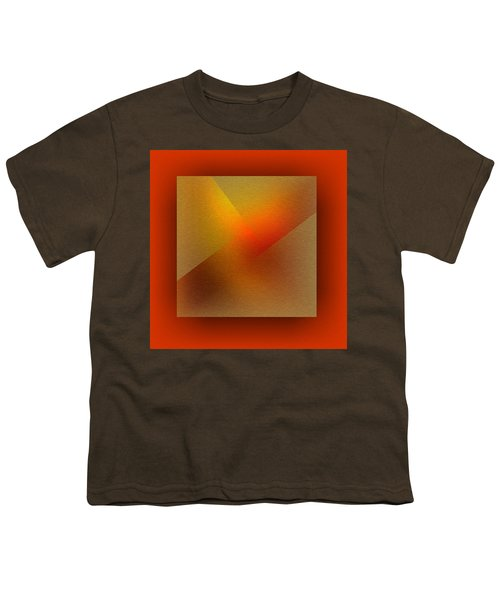 Youth T-Shirt featuring the digital art Color Recycling by Mihaela Stancu