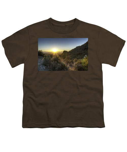 Winter Sunset Youth T-Shirt