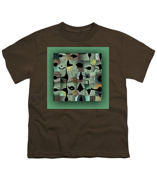 Youth T-Shirt featuring the digital art Contemporary by Mihaela Stancu
