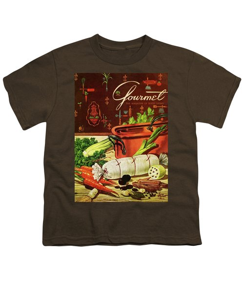 A Copper Pot And Ingredients Of Ballontine De Youth T-Shirt