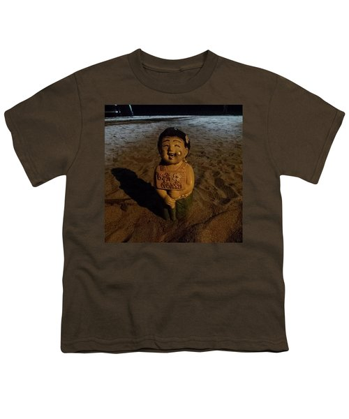 Youth T-Shirt featuring the photograph A Welcoming Friend On My Night Stroll by Mr Photojimsf