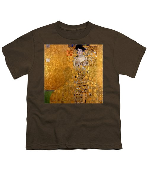 Adele Bloch Bauers Portrait Youth T-Shirt by Gustive Klimt