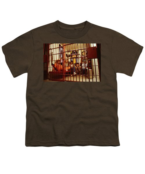 Aerosmith - In A Cage 1980s Youth T-Shirt by Epic Rights