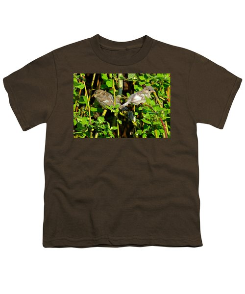 Babies Afraid To Fly Youth T-Shirt by Frozen in Time Fine Art Photography