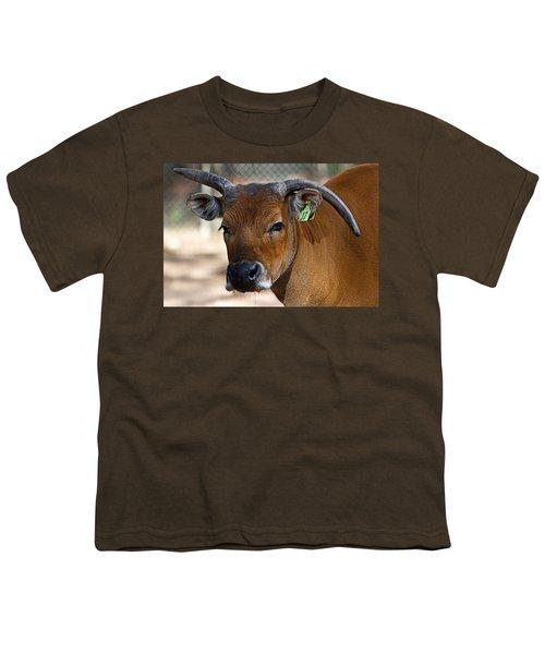 Banteng Girl Youth T-Shirt by Miroslava Jurcik