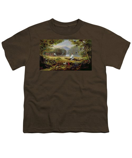 Charles Waterton Capturing A Cayman, 1825-26 Youth T-Shirt
