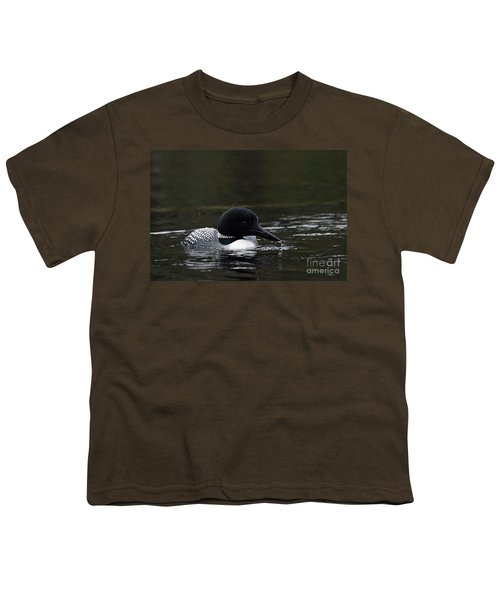 Common Loon 1 Youth T-Shirt