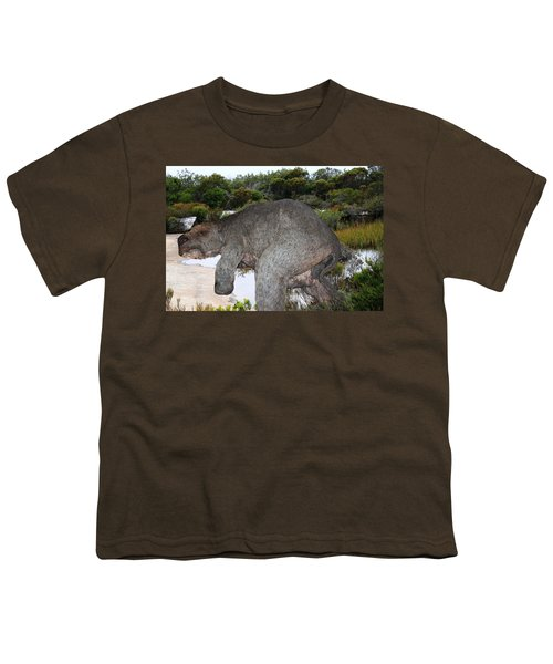 Youth T-Shirt featuring the photograph Diprotodon by Miroslava Jurcik