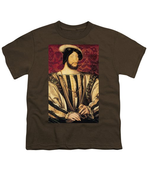 Francois I Youth T-Shirt by Jean Clouet