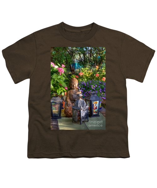 Garden Meditation Youth T-Shirt