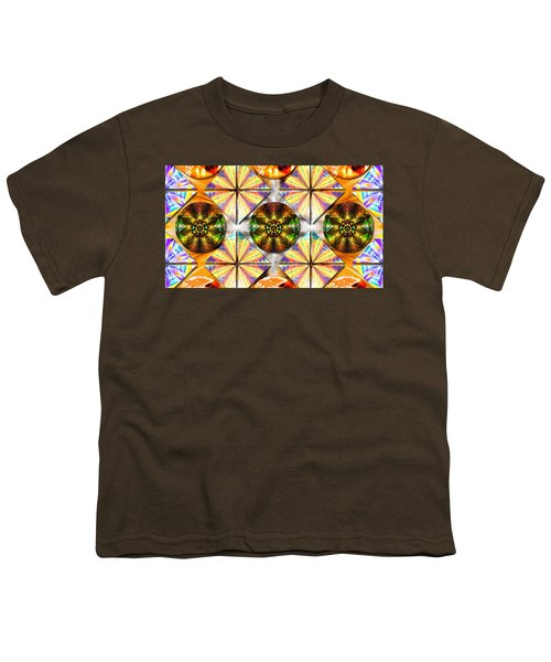 Geometric Dreamland Youth T-Shirt by Derek Gedney