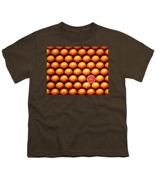 Grapefruit Slice Between Group Youth T-Shirt